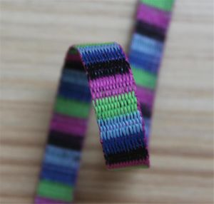High Quality Jacquard Webbing for Bag and Garments#1411-27 pictures & photos