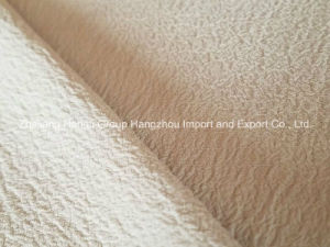 High Twist Composite Filament Crinkled Crepe Chiffon Fabric for Ladies′s Dress pictures & photos