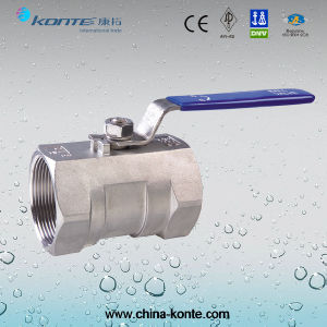 Threaded 1PC Ball Valve Without Lock Device pictures & photos