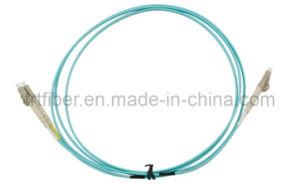 LC-LC Multimode Fiber Patch Cord (Fiber Jumper) pictures & photos