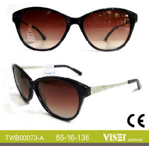 Wholesale Handmade Acetate Fashion Sunglasses (73-B) pictures & photos