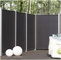 Rattan /Outdoor Patio Furniture Screen Set