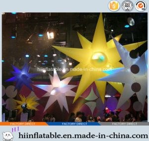 2015 Hot Selling LED Lighting Decorative Inflatable Star 0013 for Party, Event Decoration pictures & photos