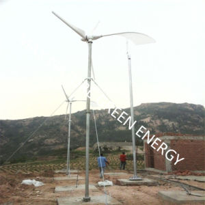 6m-12m Height Tower/Pole/ Mast for Wind Turbine Kit pictures & photos