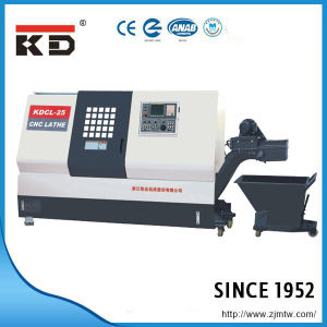 High Precision Slant Bed Big Bore CNC Lathe Kdcl-25h pictures & photos