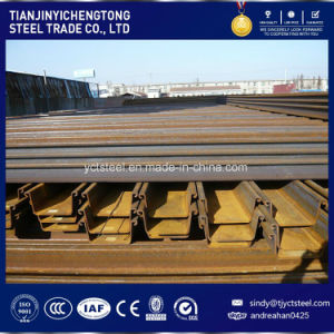 Water Cofferdam U-Shape Steel Sheet Pile Sy295, Sy390 pictures & photos