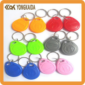 Colorful ABS 125kHz RFID Key Chain