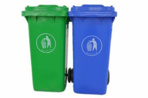 Environmental Recycle Outdoor Trash Bin/ Dustbin/ Waste Bin with En840 Approved pictures & photos