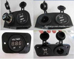 Hot! 12V Waterproof Car Socket & Voltmeter pictures & photos
