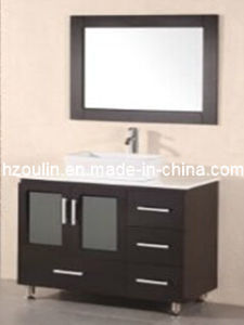 Solid Wood Bathroom Vanity (BA-1128) pictures & photos