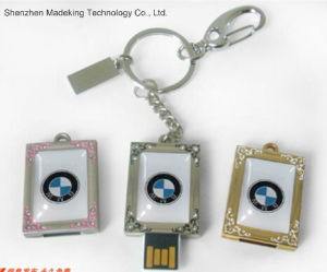 Most Beautiful Metal USB Flash Drive Push and Pull USB Flash Disk pictures & photos