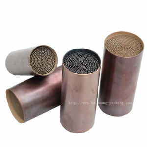 Motorcycle Honeycomb Metal Substrate in Catalytic Converter pictures & photos