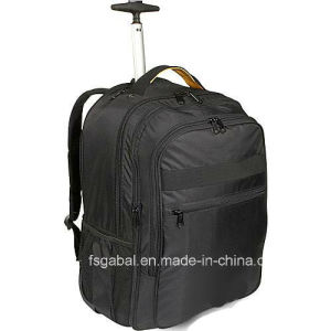 Waterproof Polyester Trolley Laptop Trolley Backpack with 2-Way Pack pictures & photos
