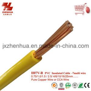 H07V-R 25mm2 PVC Single Core Cables pictures & photos