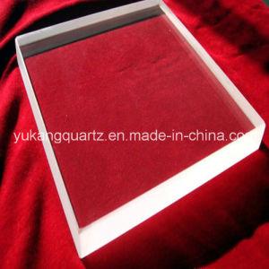 Square Shape Thick Wall Transparent Quartz Plates/Disc/Windows pictures & photos