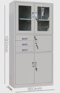 5-Door 3-Drawer Steel Furniture Office Filing Cabinet pictures & photos