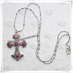 New Design Fashion Popular Cross Necklace (IO-an054) pictures & photos