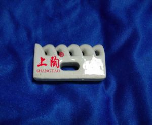5 Holes Porcelain Guide Plate pictures & photos