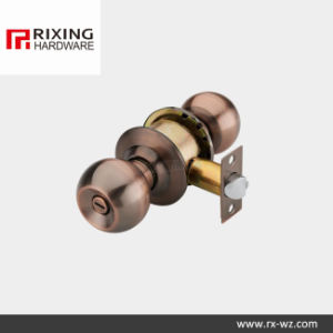 Iron or Stainless Steel Cylindrical Knob Lock (587) pictures & photos