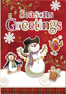 New Design Seasons Greeting for Christmas