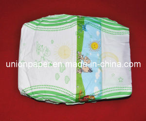 Happy Disposable Baby Diaper with Plastic Front Tape (S/M/L/XL)