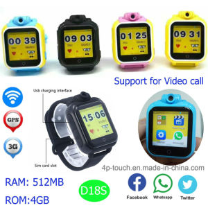 3G Android System Dual Core GPS Watch with Voice Call D18s pictures & photos