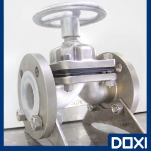 Stainless Steel PTFE Lined Diaphragm Valve pictures & photos