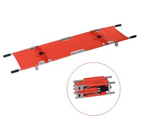 Double Foldable Pole Stretcher with CE and ISO pictures & photos