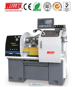Economical CNC Lathe Machine (CNC Turning Machine CK6132 CK6132S) pictures & photos