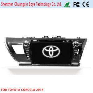Car Video DVD/MP3/MP4 Player for Toyota Corolla 2014 (LHD) pictures & photos