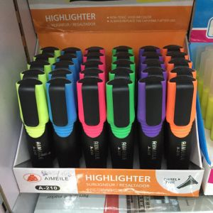 6 Colors Highlighter Pen, Fluorescent Pen pictures & photos