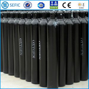 50L Seamless Steel High Pressure Industrial Oxygen Cylinder (EN ISO9809) pictures & photos