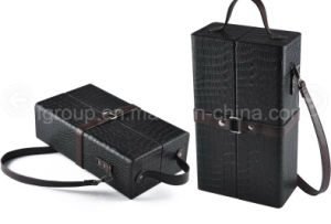 Fancy Custom PU Leather Gifts Box Wine Boxes pictures & photos