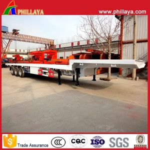 Extendable Lowbed Trailer From 17m to 45m pictures & photos