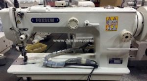 Long Arm Top and Bottom Feed Heavy Duty Sewing Machine pictures & photos