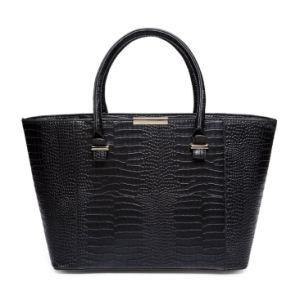 Famous Brands Handbags 2016 Elegant Female Big Bags Crocodile Handbag pictures & photos