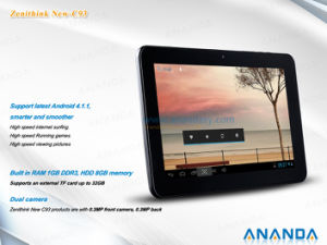 10 Inch Tablet Android with WiFi/HDMI Zenithink C93