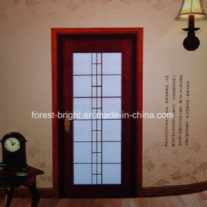 Mahogany Wood Door Models with Glass pictures & photos