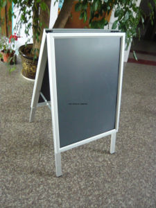 Aluminum a Frame Signs a Snap Frame a-Board Sign, Snap Frame a-Frame, Folding a Board a Framefoldable a Frame Pavement Signs pictures & photos