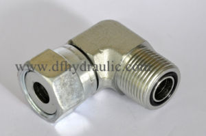 90 Degree Orfs Male and Female Swivel Flatface O-Ring Adapter pictures & photos