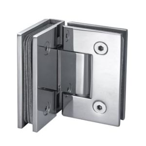 90 Degree Solid Brass Shower Door Hinge (GSH-002)