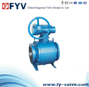 Manual Trunion Metal-Sealed Ball Valve pictures & photos