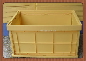 Colorful PP Plastic Folding Container for Storage (ZFF-201)