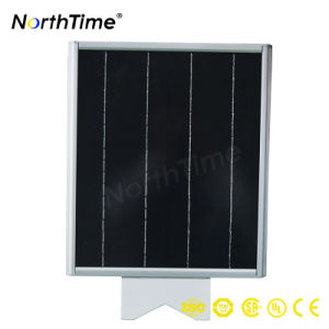 Integrated Monocrystalline Silicon Panel Solar Outdoor Lighting with Sensor pictures & photos