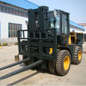 New Condition 3m All Terrain Forklift in 5 Ton Forklifts Price pictures & photos