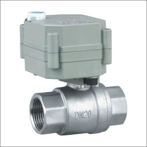 3/4 Inch Normal Close Motorized Ball Valve with Override (T20-S2-B) pictures & photos