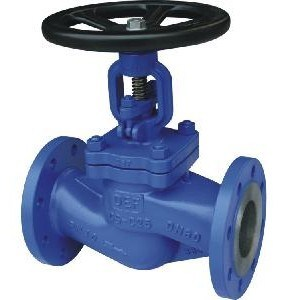 Wcb DIN Flanged Globe Valve Pn16 Dn15--Dn300 pictures & photos