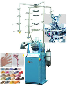 High Quality Computerized Jacquard Silk Stocking Knitting Machine pictures & photos