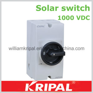 1000VDC DC Solar Isolator Switch pictures & photos