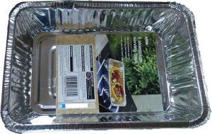 5 PCS Tinfoil BBQ Grill Pan